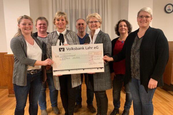 Spendenübergabe  Concordia Ottenheim